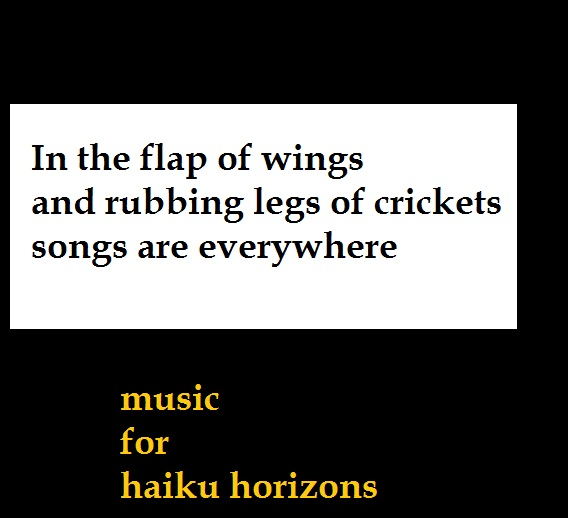 music for  haiku horizons sb 5.7.16